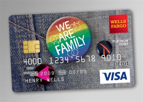 well fargo card design fargo lgbt debit card 171 urso chappell creative