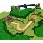 Plant Slide Piranha Resource Mario Kart Wii