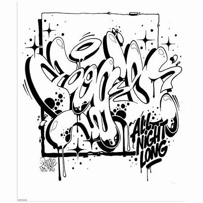 Graffiti Coloring Books Colouring Paper Spraydaily Markersnpens