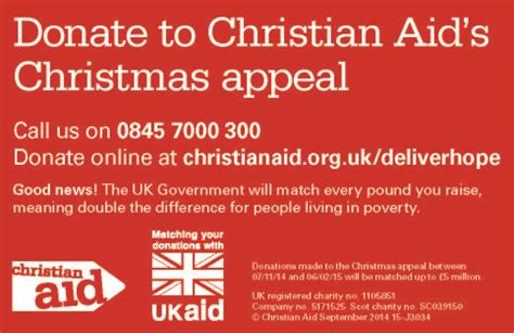 the urc christian aid christmas appeal film