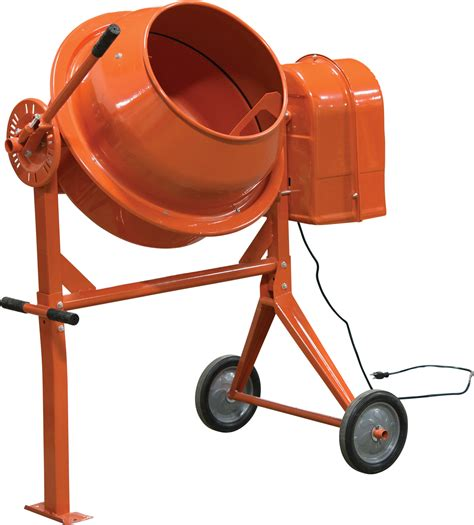 cement mixer 1 3 hp electric cement mixer princess auto