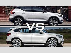 2018 Volvo XC40 vs 2017 BMW X1 YouTube