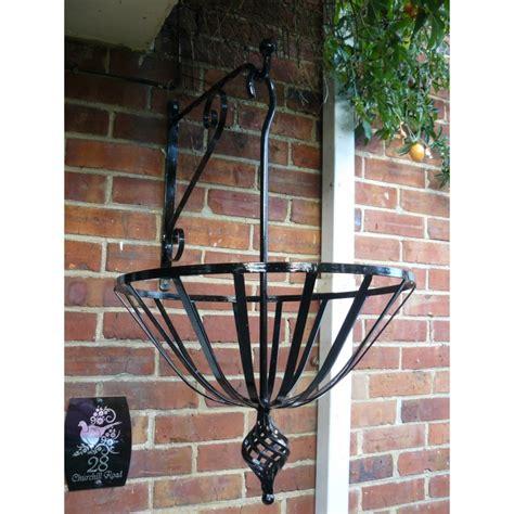 wrought iron hanging ls hanging basket and bracket