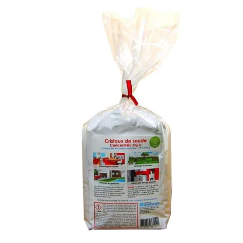 cristaux de soude 1kg carbonate de sodium