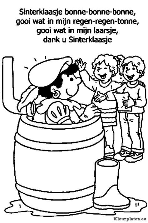 Kleurplaat Zwarte Piet Fiets by Zwarte Piet Ging Uit Fietsen Kleurplaat
