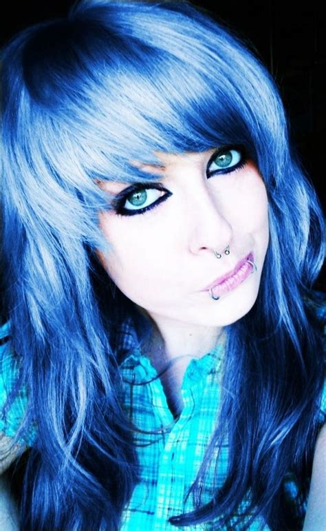 19 Best Images About Hair On Pinterest Scene Hair Blue