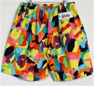 Vintage 1980s Jams shorts swim trunks