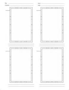 Comic Book Layout Template