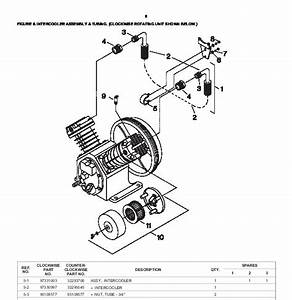 34 Ingersoll Rand Compressor Parts Diagram