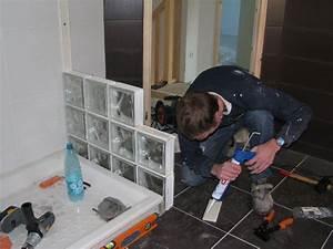 Douche Mur Verre : les murs de la douche la construction de notre maison ~ Zukunftsfamilie.com Idées de Décoration