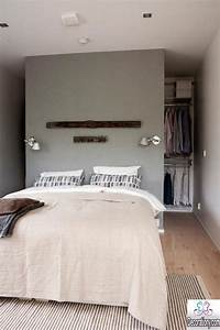 13 creative walk in wardrobe behind bed designs bedroom for Best brand of paint for kitchen cabinets with pochettes papier