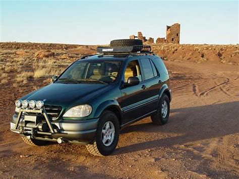 mercedes ml w163 mercedes ml 320 w163 lifted mercedes ml w163 offroad