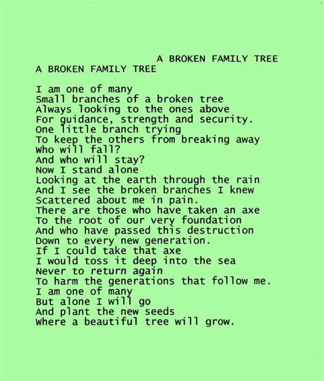Broken Family Tree Quotes