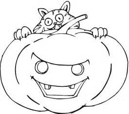 Free Printable Halloween Pumpkin Coloring Page