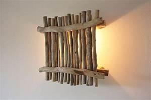 Applique Murale Bois Flotté : 20 diy bois flott blog deco diy clem around the corner ~ Teatrodelosmanantiales.com Idées de Décoration