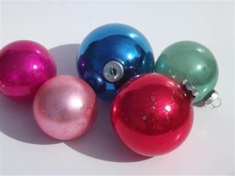 vintage mercury silver colored glass ball christmas tree