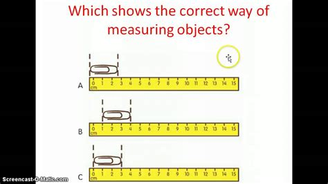 lesson 3 measuring with centimeters
