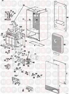 Ideal Isar He35 Appliance Diagram  Exploded View After Xf