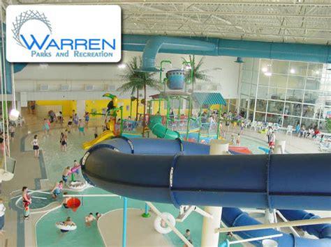 19213 Warren Water Park Coupons 18 for 4 passes to the warren indoor water park 40