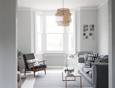 light grey living room walls