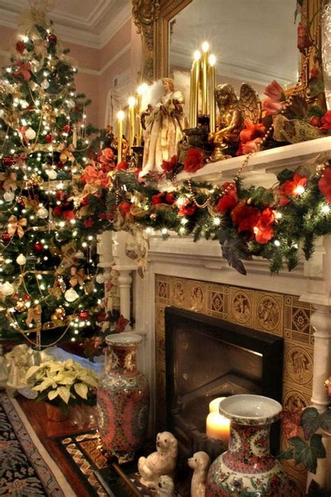 christmas mantels images  pinterest christmas