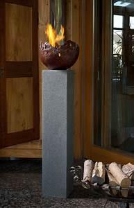 Rottenecker feuerschale fire klein bronze rot 22008 garten for Feuerstelle garten mit pflanzkübel rot groß