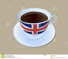 Tea Cup England Flag
