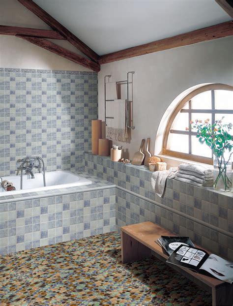 Mosaic Tile Bathroom Floor Zampco Mosaic Bathroom Floor In