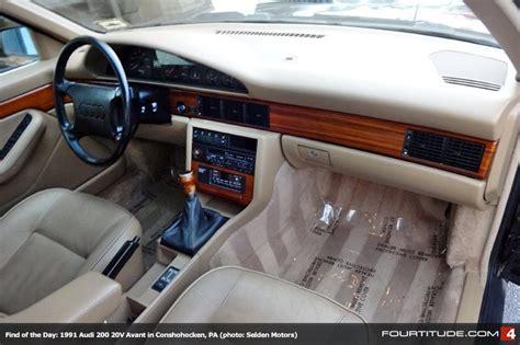 accident recorder 1991 audi 100 transmission control parking lot classic 1991 audi 200 avant doing it right
