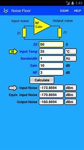 rf microwave toolbox With noise floor calculator