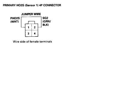 cx primary  sensor wiring honda tech honda forum