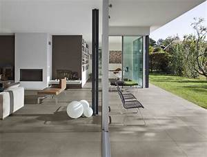 porcelain stoneware tiles concrete effect district With carrelage sol 60x60