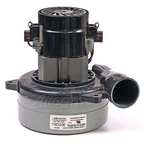 Central Vacuum Replacement Ametek Lamb Electric Motor ...
