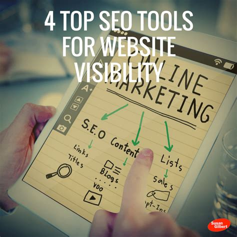 Best Seo Websites - 4 top seo tools for website visibility