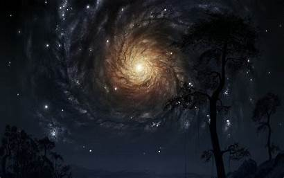 Hole Wallpapers Sky Interstellar Gargantua Supermassive Way