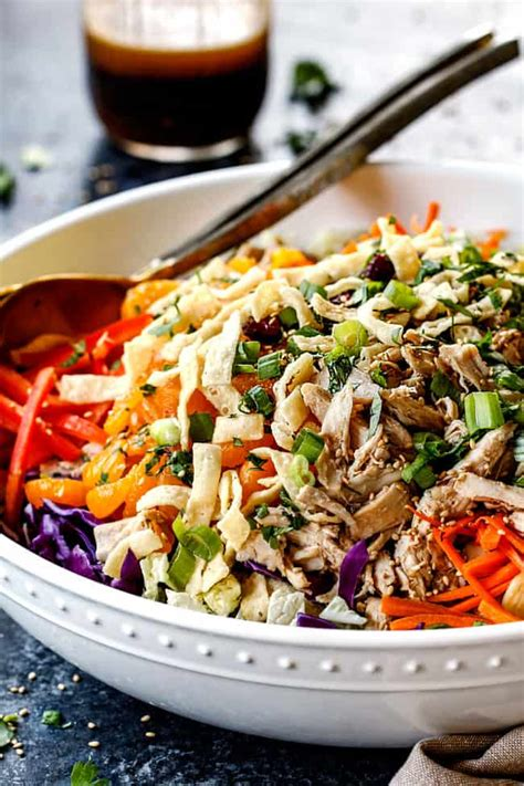 chinese chicken salad  sesame ginger dressing video