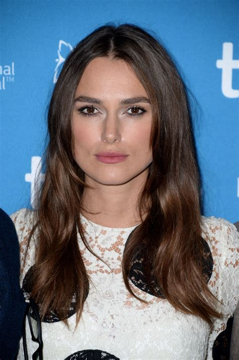 KEIRA KNIGHTLEY at The Imitation Game Press Conference in ...