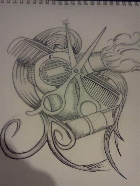 blow dryer tattoo designs