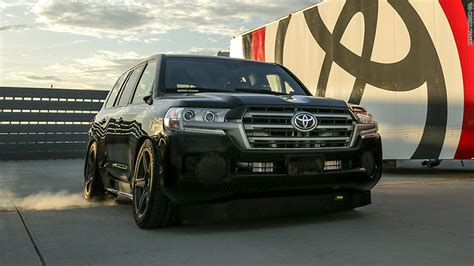 toyota claims worlds fastest suv title