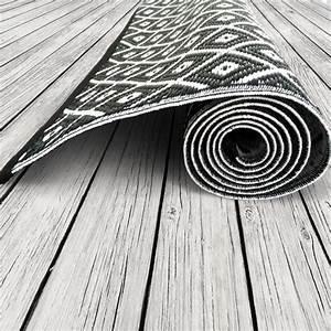 Teppich Schwarz Weiß : garten im quadrat outdoor teppich arabien schwarz wei ~ A.2002-acura-tl-radio.info Haus und Dekorationen