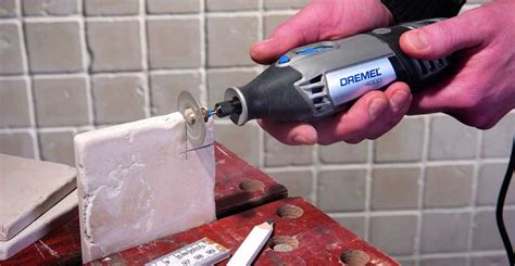 cutting tile with dremel how to cut tile with a dremel rotary tool