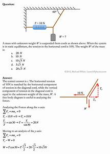 30 Free Body Diagram Problems And Solutions Pdf
