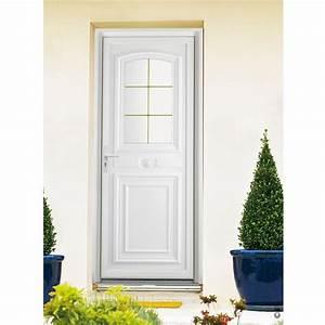 Porte d39entree pvc choisel avec cimaise pasquet menuiseries for Porte d entrée pvc en utilisant fenetre pour porte d entrée pvc