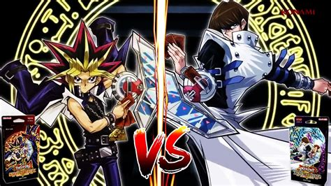 yugioh yugi kaiba vs deck structure duel