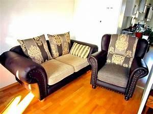 Gutmann Factory Sessel : original gutmann factory 2 sitz couch mit ohrensessel in braunt nen in n rnberg polster ~ Orissabook.com Haus und Dekorationen