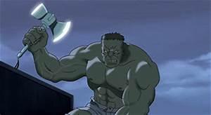 marvel - How does Hulk lift Mjolnir in Ultimate Avengers ...