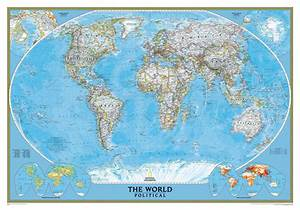 Political map of the Earth. Political maps of the world ...