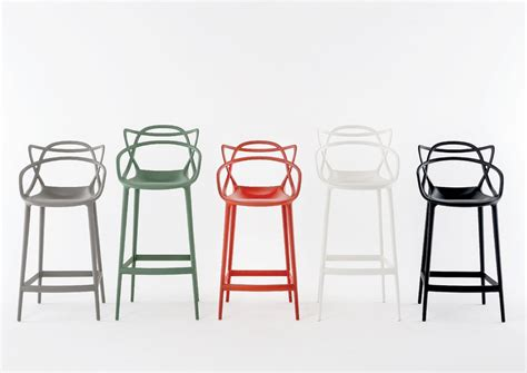 tabouret chaise de bar kartell masters stool by philippe starck bar stool