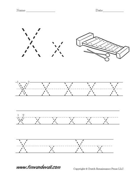 letter x worksheet tim s printables 212 | Letter X Worksheet Printable