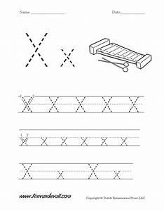 Printable Letter X Worksheets For Preschoolers - letter x ...